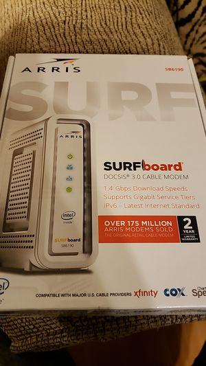 Arris Surfboard Modem for Sale in Wichita Falls, TX