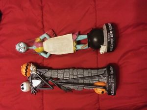 Nightmare before Christmas Jack and Sally statue set for Sale in Phoenix, AZ