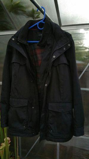 $700 Cole Haan men's black insulated jacket hood waterproof for Sale in San Jose, CA