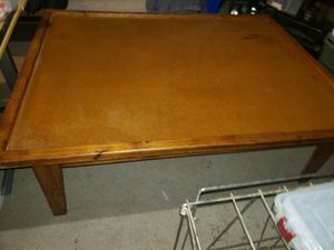 Large Wooden Table w/ some toys for Sale in Runnells, IA