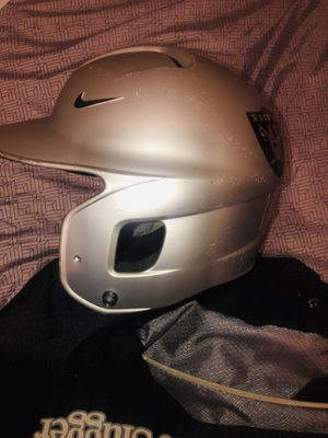 Baseball helmet/bat bag for Sale in Fresno, CA