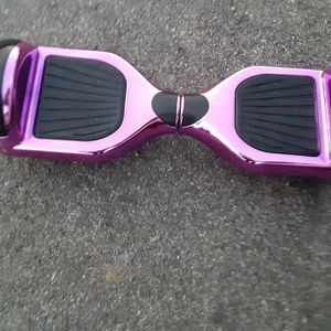 Hover Board Purple Metallic Bluetooth And LEDs Light Up for Sale in Versailles, KY