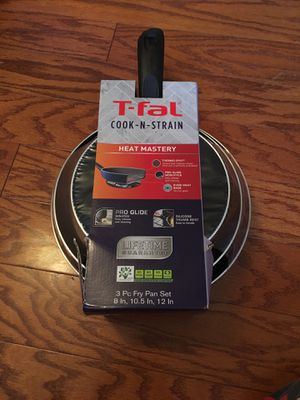 T-fal, Cook - N - Strain, heat master for Sale in Alexandria, VA