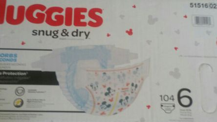 Huggies Diapers Size 6 for Sale in Duvall,  WA