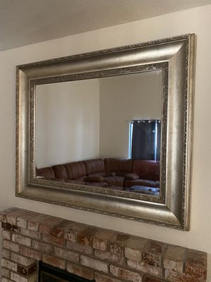 Gold metallic wall mirror for Sale in Modesto, CA