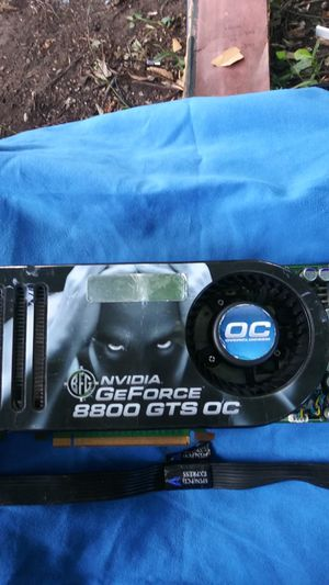 GeForce 8800 GTS OC for Sale in Fulton, MO