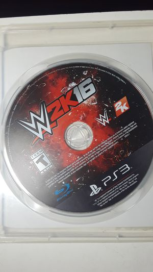 Wwe 2k16 for Sale in San Antonio, TX