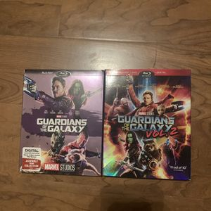 Guardians of the galaxy 1&2 for Sale in Maywood, CA