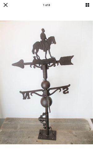 Weather vane horse and rider for Sale in Lincoln, NE
