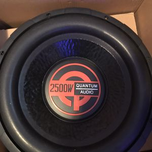 Brand New 12 Inch Sub For Trade! for Sale in Tampa, FL