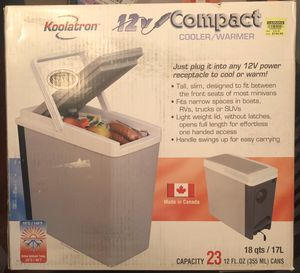 Koolatron 12V Compact Electric Cooler and Warmer 18qts New for Sale in Wilbraham, MA