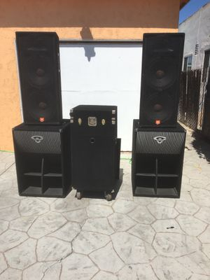 Dj audio equipment for Sale in San Diego, CA