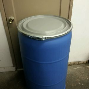 Plastic Drum 55 Gallon for Sale in New York, NY