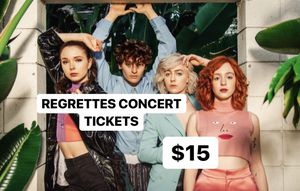 Regrettes Concert Tickets 10/15 @7pm for Sale in Seattle, WA