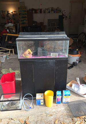 Two Aquariums (one large, one small) for Sale in Roswell, GA