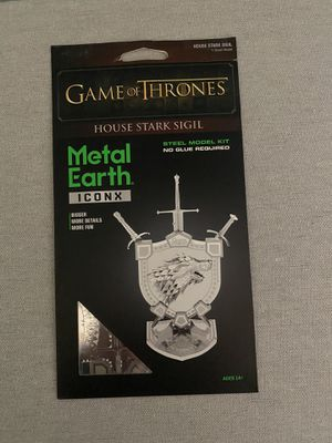 Game of thrones Metal earth for Sale in Ellicott City, MD
