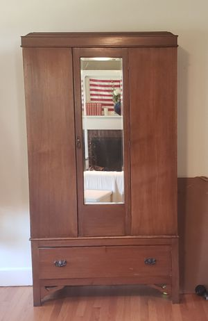 Vintage Antique Armoire for Sale in Everett, WA