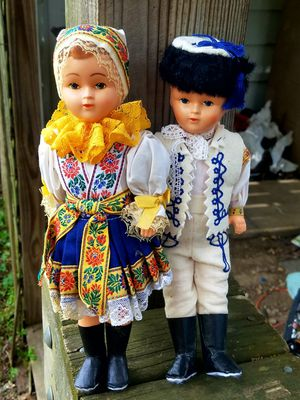 Vintage Pair of Dolls for Sale in Fairfax, VA