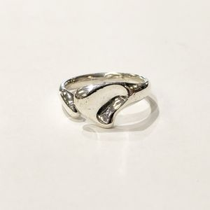 ".925 Silver Woman's Tiffany & Co. ""Elsa Peretti"" Full Heart Ring Fancy Ring Size: 8 10012924-14 for Sale in Tampa, FL"