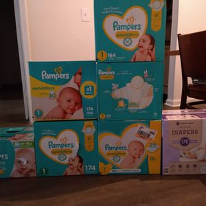 Pampers Swaddlers SIZE ONE for Sale in College Park, GA