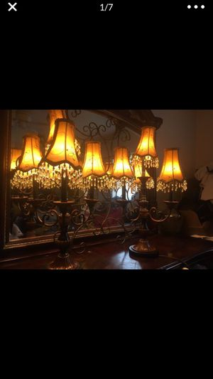 Candelabra lamps for Sale in Tampa, FL