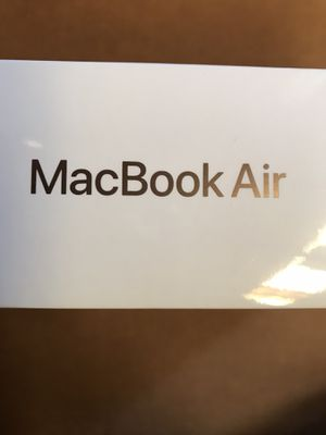 BRAND NEW SEALED MACBOOK AIR LAPTOP NOTEBOOK COMPUTER SYSTEM APPLE COMPUTER $800 Firm for Sale in Houston, TX