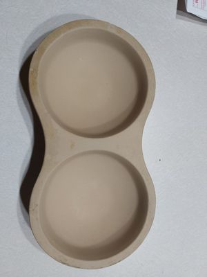 Pampered Chef Stoneware Double Bowl Egg Cooker for Sale in Federal Way, WA