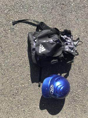 Baseball bag and helmet set for Sale in Fairfax, VA