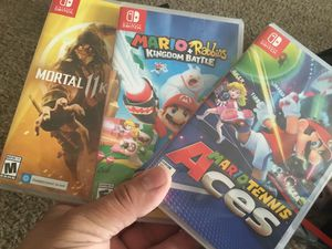 Nintendo Switch games brand new unopened for Sale in Las Vegas, NV