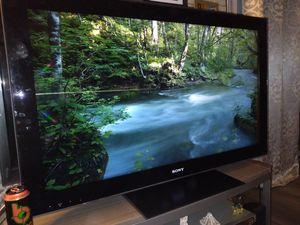 Sony Bravia 47 inch LCD,remote control,$80,o.b.o.no smart tv,get the roku and make it smart for Sale in Chula Vista, CA