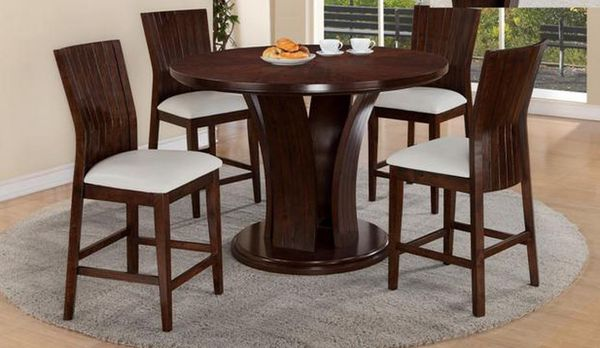 Brand New 5pc. Counter Height Dining Table Set