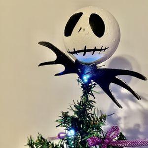 Nightmare before Christmas jack Skellington table top tree for Sale in Dayton, OH