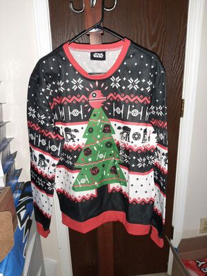 DISNEY Star wars Holday Sweater 2XL XL L for Sale in Fort Wayne, IN