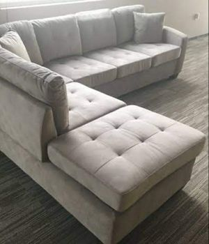 ☑ Special for Black Friday ‼ SPECIAL] Emilio Taupe Sectional 28 for Sale in Jessup, MD