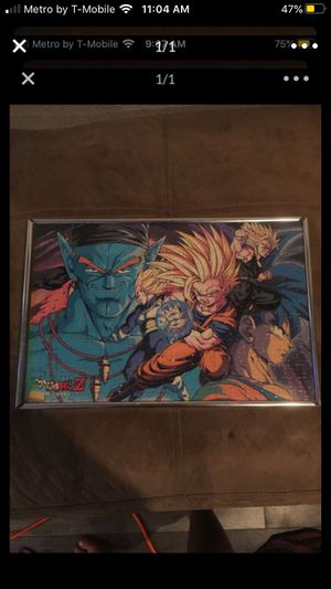 Dragon ball z picture for Sale in Lake Elsinore, CA