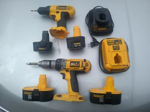 DC 727 and DC 987 wireless battery operated drill for Sale in Glendale, AZ