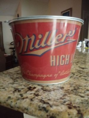 Vintage themed Miller High Life ice pale for Sale in Marietta, GA