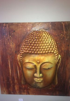 Wood carving Buddha for Sale in Detroit, MI