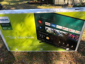 TV Phillips 65 in new in box for Sale in Orange Park, FL