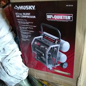 Husky 4.5 gal Air Compressor for Sale in Franklin Lakes, NJ