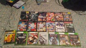 Xbox 360 and ps2 games $5 a piece or 60 for all for Sale in Ottumwa, IA
