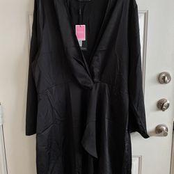 Plus Black Satin Dress for Sale in Dallas,  TX