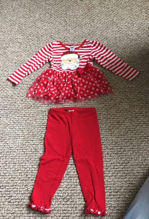 Christmas outfit Santa size 2t for Sale in Miami, FL