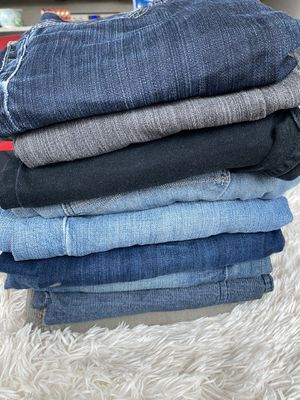 Stack of 9 Men Jeans and Cotton Pants Lot for Sale in West McLean, VA