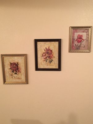 Flower paintings. for Sale in Tempe, AZ