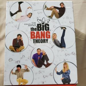 The Big Bang Theory The Complete Series (DVD) Seasons 1 - 12 for Sale in Ontario, CA