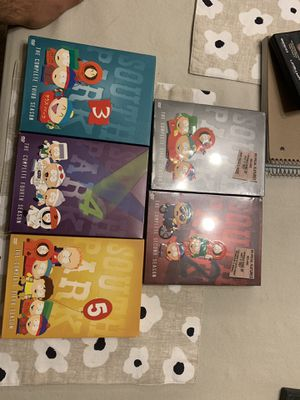 South Park DVD seasons 1-5 for Sale in Ontario, CA