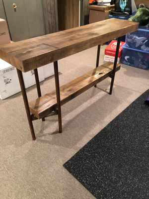 Custom Wood Console Table for Sale in Highland Park, IL