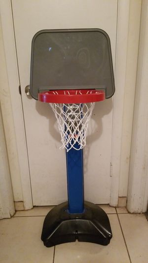 Kids basketball hoop and ball for Sale in Orlando, FL