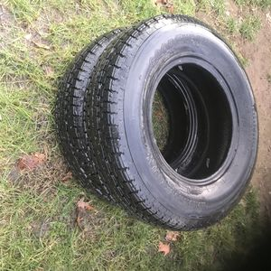 Trailer Tires Size Good Year 205/75/R14 for Sale in Middlebury, CT